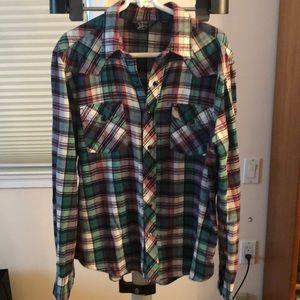 Flannel shirt.  Unisex.